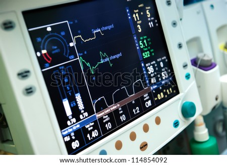 Mechanical ventilation equipment - stock photo