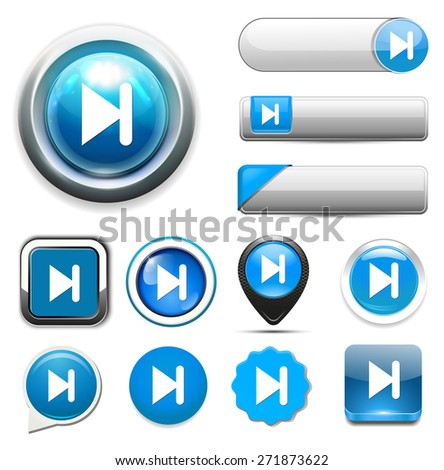 media player button