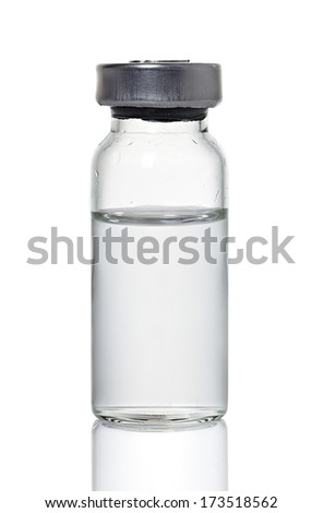 Medical ampoule - stock photo
