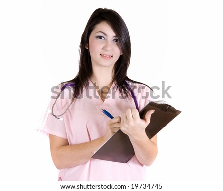 Medical assistant - stock photo