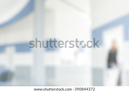 MEDICAL BLURRED BACKGROUND - stock photo