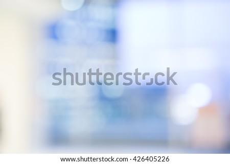MEDICAL BLURRED BACKGROUND - stock photo