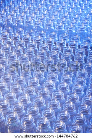 medical bottles , or medical background of empty vials - stock photo