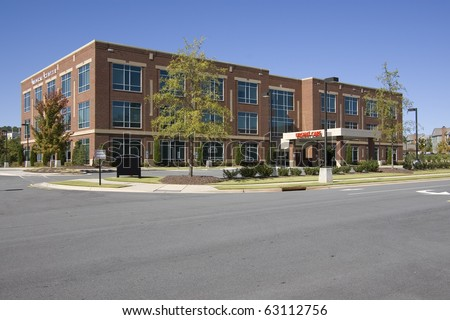 Medical center building - stock photo
