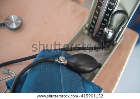 Medical devices, wound  - stock photo