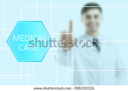 Medical doctor. Modern medical technologies concept - stock photo