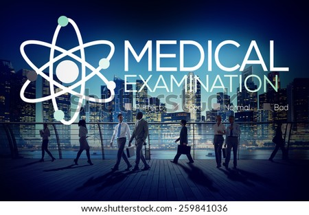Medical Examination Check Up Diagnosis Wellness Concept - stock photo
