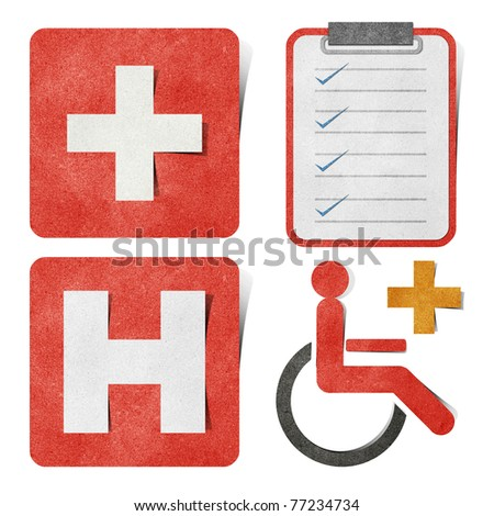 Health card stock images royalty free images vectors for Craft paper card stock