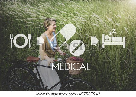 Medical Health Wellbeing Proper Care Concept - stock photo