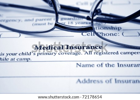 stock-photo-medical-insurance-72178654 Qlm Medical Claim Form on