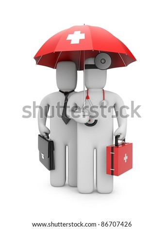 Medical protection - stock photo