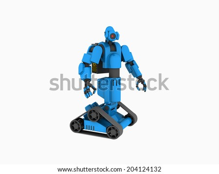 medical robot - stock photo