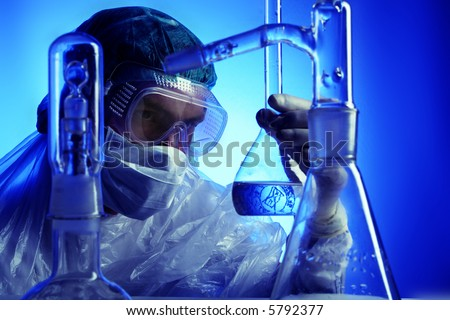 Medical science equipment. Research, laboratory, science, testing - stock photo