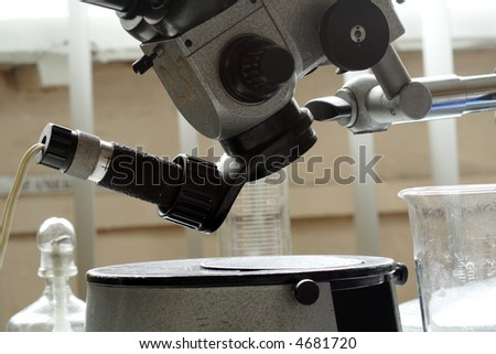 Medical science equitpment. Shot in a laboratory. - stock photo