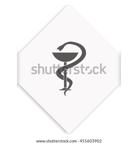 Medical sign icon. - stock photo