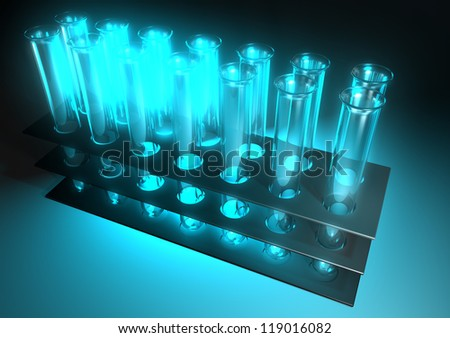 medical tubes - stock photo