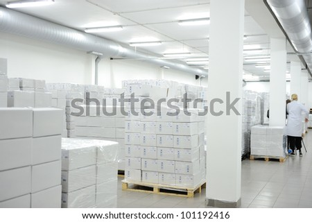 Medical warehouse - stock photo