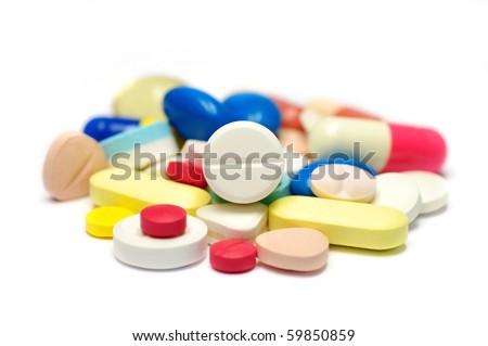 Medicine pill. - stock photo