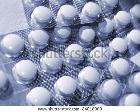medicine, pills - stock photo