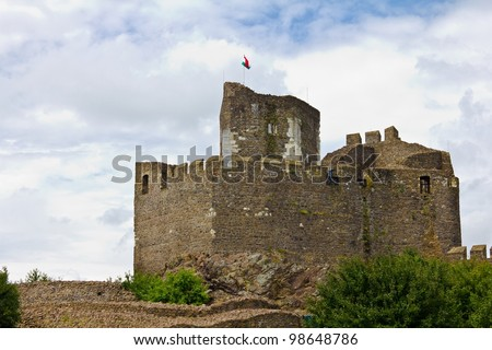 Medieval castle of Holloko, Hungary. UNESCO World Heritage Site. - stock photo