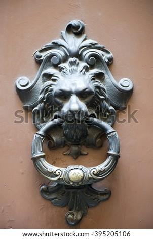 medieval doorknocker italy
