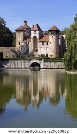 medieval french castle