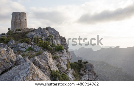 medieval tower (Mallorca / Spain)