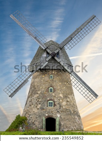 Medieval Windmill Stock Photos, Images, & Pictures ...
