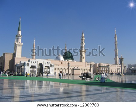 Medina in the morning - stock photo