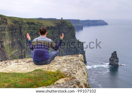 Meditation on Irish Cliffs