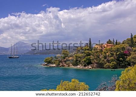 Mediterranean summer - stock photo
