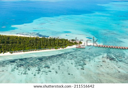 Meeru Maldives island located in North Atoll