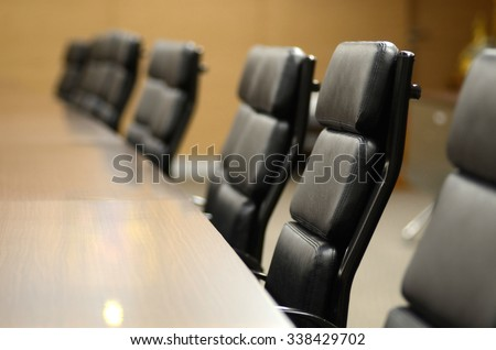 Meeting room for business concept and design - stock photo