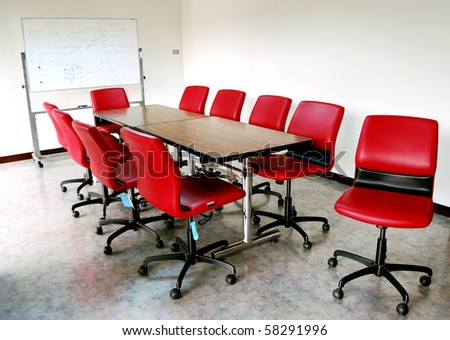 Meeting Room in Thailand - stock photo