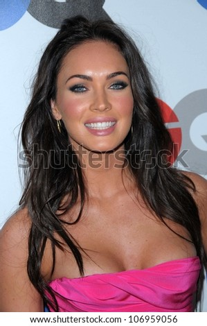 Megan Fox  at the 2008 GQ 'Men of the Year' Party. Chateau Marmont Hotel, Los Angeles, CA. 11-18-08 - stock photo