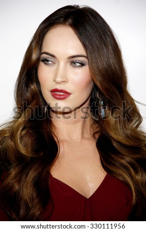 "Megan Fox at the Los Angeles Premiere of ""This Is 40"" held at the Grauman's Chinese Theatre in Los Angeles, California, United States on December 10, 2012.   - stock photo"