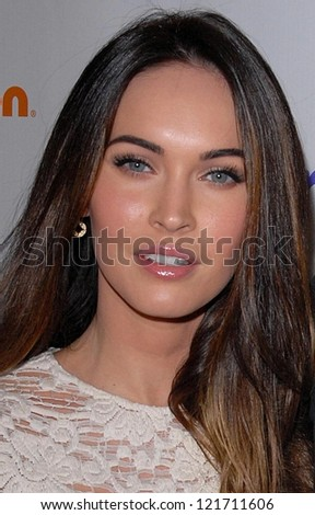 Megan Fox at the 2012 March Of Dimes Celebration Of Babies, Beverly Hills Hotel, Beverly Hills, CA 12-07-12 - stock photo