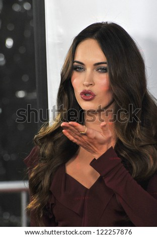 """Megan Fox at the world premiere of her new movie """"This Is 40"""" at Grauman's Chinese Theatre, Hollywood. December 12, 2012  Los Angeles, CA Picture: Paul Smith - stock photo"""