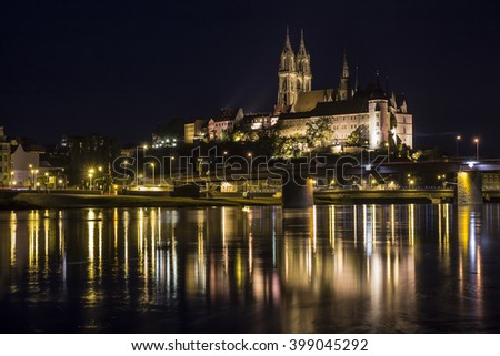 Meissen by night