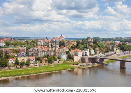 Meissen - Germany - Panorama - stock photo