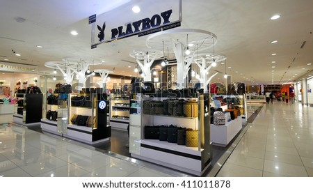 Melaka Malaysia April 23 2016 Playboy Stock Photo 411011878