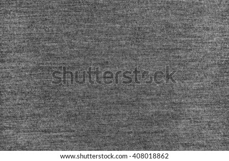 Melange gray woolen knitted fabric as background - stock photo