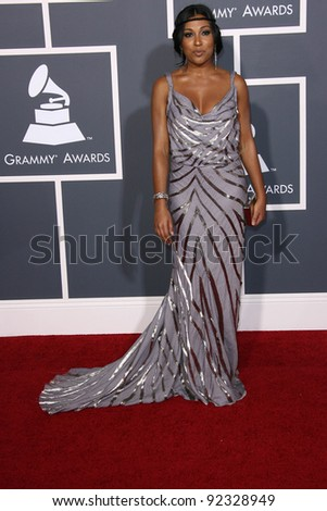 Melanie Fiona at the 53rd Annual Grammy Awards, Staples Center, Los Angeles, CA. 02-13-11