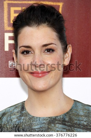 """Melanie Lynskey at the 2012 Los Angeles Film Festival premiere of """"Seeking A Friend For The End Of The World"""" held at the Regal Cinemas L.A. LIVE Stadium 14 in Los Angeles, USA on June 18, 2012.  - stock photo"""