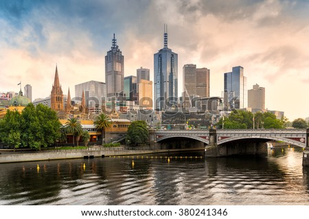 Melbourne VIC, Australia on the 26th Jan 2016:120 Collins Street is a 265M skyscraper in Melbourne, It was opened in 1991 and it comprises 50 levels of office accommodation and 4 levels of plant   - stock photo
