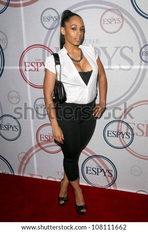 Melissa Ford  at the 2008 ESPY's Giant Event. J Bar and Lounge, Los Angeles, CA. 07-15-08 - stock photo