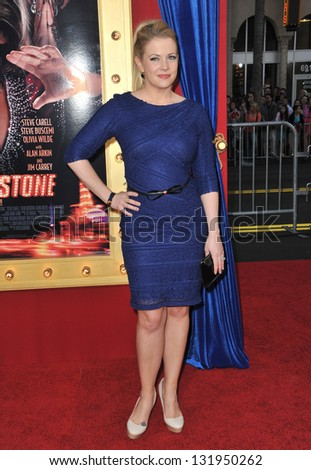 "Melissa Joan Hart at the world premiere of ""The Incredible Burt Wonderstone"" at the Chinese Theatre, Hollywood. March 11, 2013  Los Angeles, CA Picture: Paul Smith"