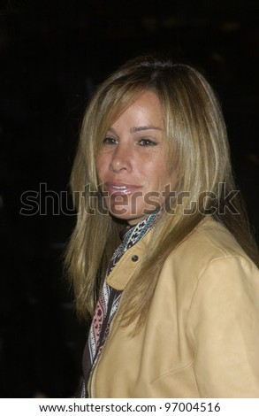 MELISSA RIVERS at the Los Angeles premiere of Team America: World Police. October 11, 2004
