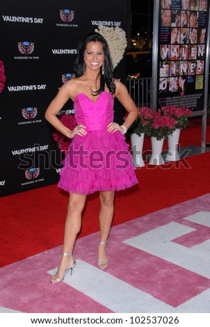 """Melissa Rycroft at the """"Valentine's Day"""" World Premiere, Chinese Theater, Hollywood, CA. 02-08-10 - stock photo"""