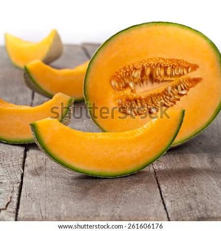 Melons. Selective focus. - stock photo